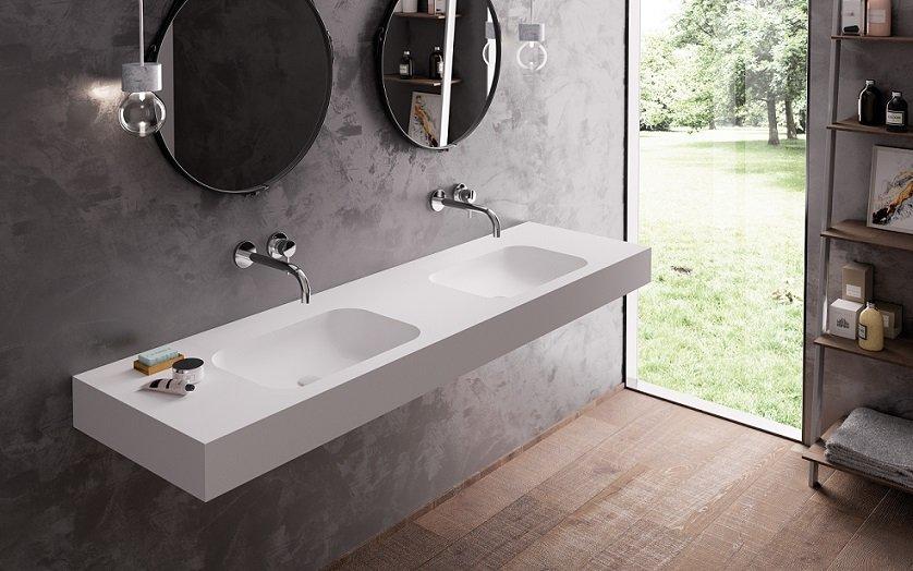 Wastafel Op Maat : Wat is solid surface solid surface in de badkamer wastafel op maat