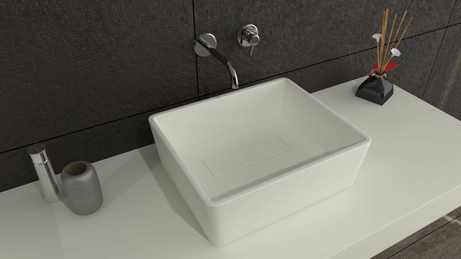 Brave Small Solid Surface waskom