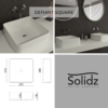 Defiant square solidz maatvoering