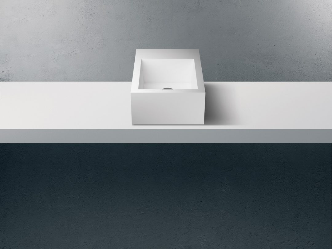 Solidz Royal Small - Solid Surface Opzetbak
