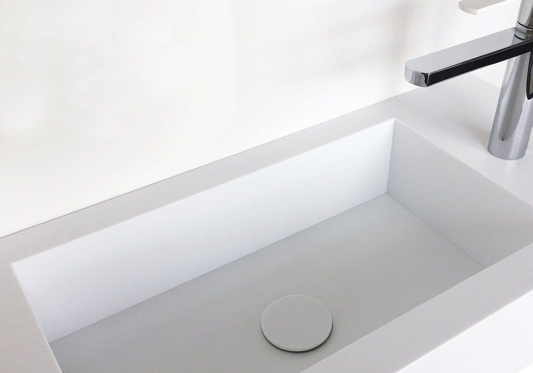 Corian wastafel Angolo Retto (rechte binnenhoek) 1080x756