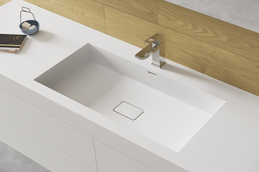 Solidz Miraklon FMP-Series - Solid Surface Wastafel
