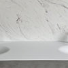 Solidz Thermo Oval Front - Solid Surface wastafel Corian - HI-MACS - dubbel 2