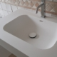 Solidz Incollato Bounce - Solid Surface wastafel HIMACS productafbeelding 840x560