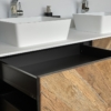 Solidz - Solid Surface Opzetkom - Brave Small meubel Robuust met open lade