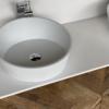 Solidz - Solid Surface Opzetkom - Juice Bianco meubel Robuust dubbel