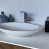 Solidz - Solid Surface Opzetkom - Juice Oval Dubbel meubel Robuust