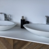 Solidz - Solid Surface Opzetkom - Juice Oval Dubbel meubel Robuust 2