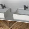 Solidz - Solid Surface Opzetkom - Royal Medium - Meubel Robuust Dubbel